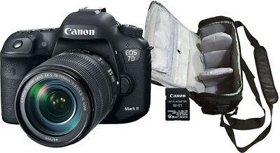 NEW Canon 7D Mark II + EF-S mm USM + KamKorda Bag - UK