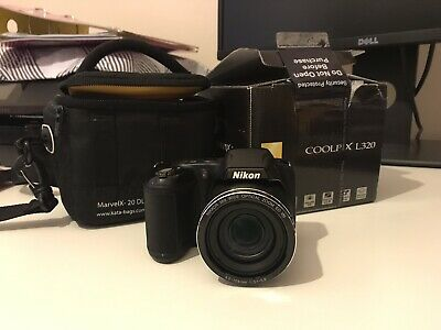 Nikon COOLPIX LMP Digital Camera - Black