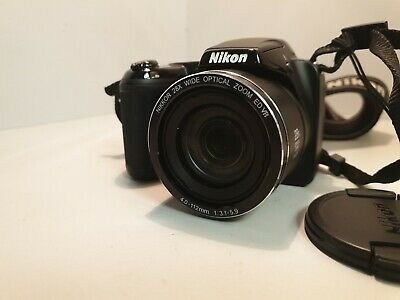 Nikon COOLPIX LMP Digital Camera - Black *