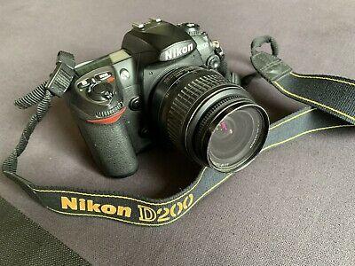 Nikon D DMP Digital SLR Camera body And Nikon ED