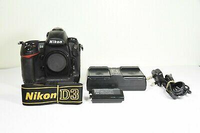 Nikon D3 Body only 12.1MP Digital SLR Camera - Black ***15k
