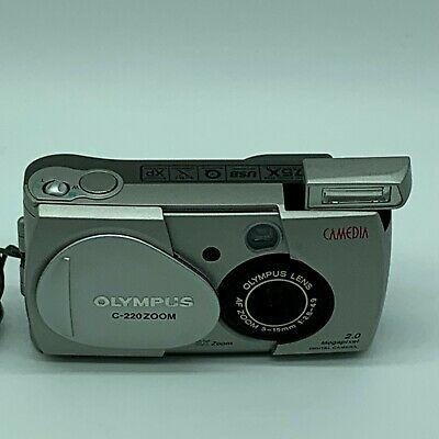 Olympus Camedia C 220 Zoom 2.0MP Digital Compact Camera