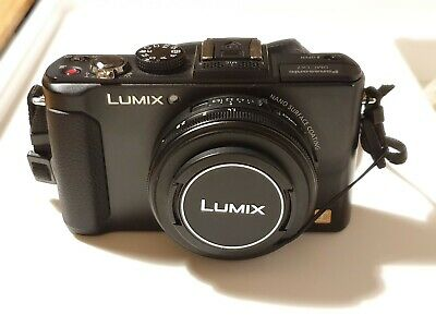 Panasonic LUMIX DMC-LXMP f1.4 Digital Camera - Black