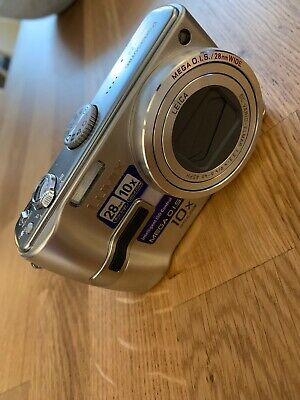 Panasonic LUMIX DMC-TZ3 7.2MP Digital Camera - Silver