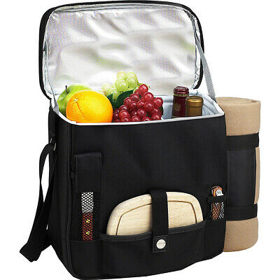 Picnic at Ascot Wine and Cheese Picnic Basket/Cooler Outdoor
