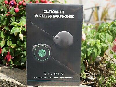 Revols custom fit wireless headphones, brand new unopened in