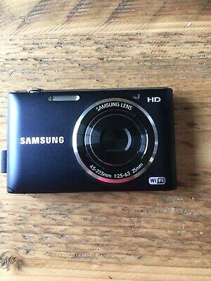 Samsung ST Series ST150F 16.2MP Digital Camera - Black