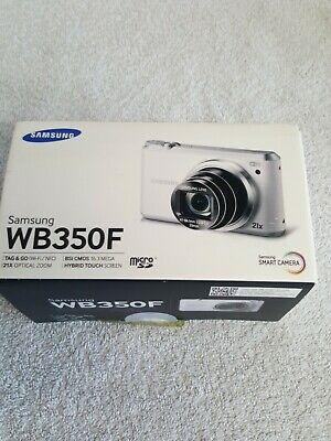 Samsung WB Series WB350F 16.3MP Digital Camera Black BNIB +