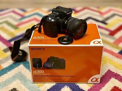 Sony Alpha DSLR-A300K 10.2MP Digital SLR Camera Black (Kit