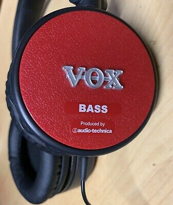 Vox Amphone Bass Amplifier And Headphones All In One