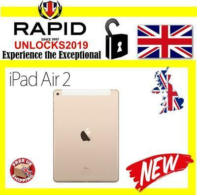 New Apple iPad Air 2 64GB, Wi-Fi + Cellular (Unlocked),