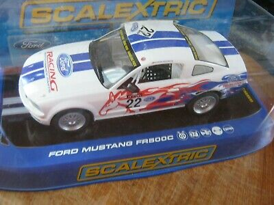 SCALEXTRIC c FORD MUSTANG FR500C RACING PERFORMANCE