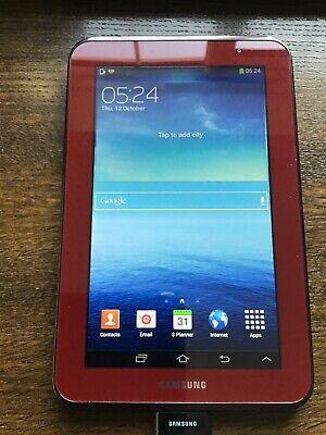 Samsung Galaxy Tab 2 GT-PGB, Wi-Fi, 7in - Garnet Red
