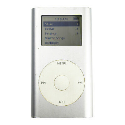 Apple iPod Mini Silver 1st Generation AGB **Tested &