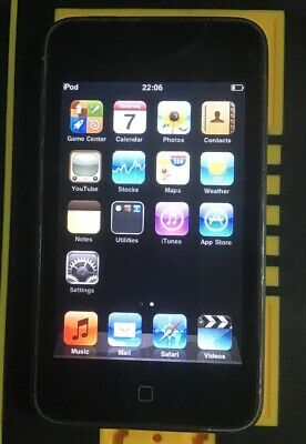 Apple iPod touch 2nd Generation Black (8GB) Working But With