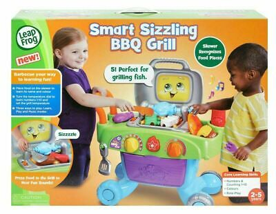 BRAND NEW LeapFrog Smart Sizzling BBQ Grill Toy Barbecue 2-5