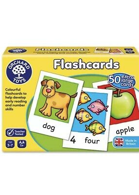 Baby Gift Educational Game Orchard Toys Flash Cards For