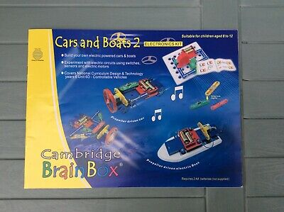 Cambridge Brainbox Cars and Boats 2 - Electronics Kit For