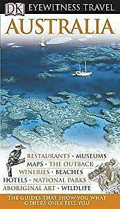 DK Eyewitness Travel Guide: Australia,, Used; Good Book