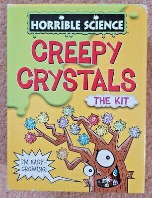 Galt HORRIBLE SCIENCE CREEPY CRYSTALS Kids Educational Toy
