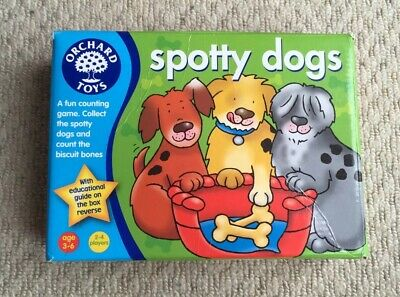 Orchard Toys Spotty Dogs Game Age 3-6 Counting