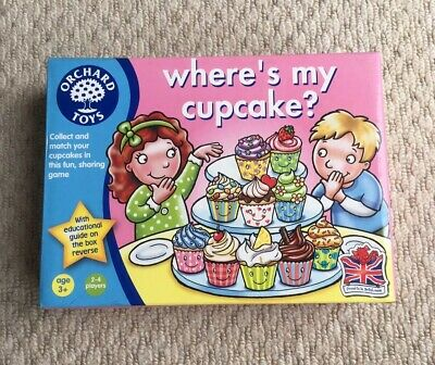 Orchard Toys Where's My Cupcake Matching Game Age 3+
