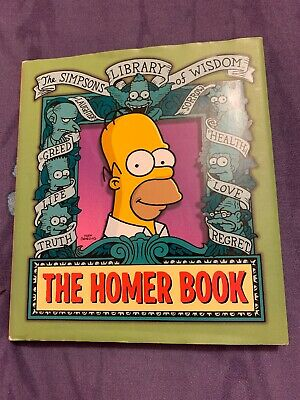 The Homer Book (The Simpsons Library of Wisdom) Hardback
