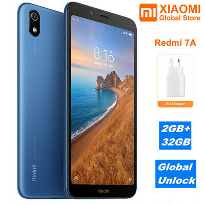 "Xiaomi Redmi 7A 2GB+32GB 4G Smartphone 5.45"" MIUI 10 Octa"