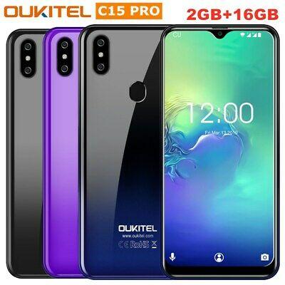"Oukitel C15 Pro 6.0"" Unlocked Smartphone 4G Android 9.0 Quad"