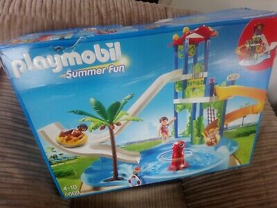 PLAYMOBIL  Summer Fun Water Park with Slides 100%