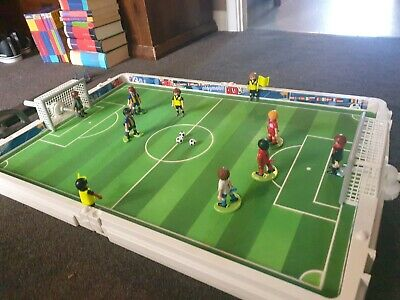 PLAYMOBIL  Vintage Football Set, pitch, players and