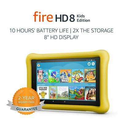 Amazon Kindle Fire HD 8 Kids Edition 32GB Tablet - YELLOW