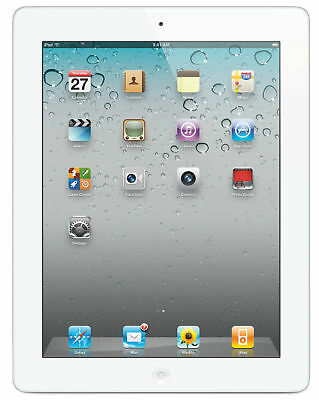 Apple iPad 2 16GB, White, Wi-Fi, 9.7in and Case