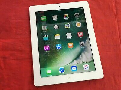 Apple iPad 4 16GB, Wi-Fi (A) - White - (See description)