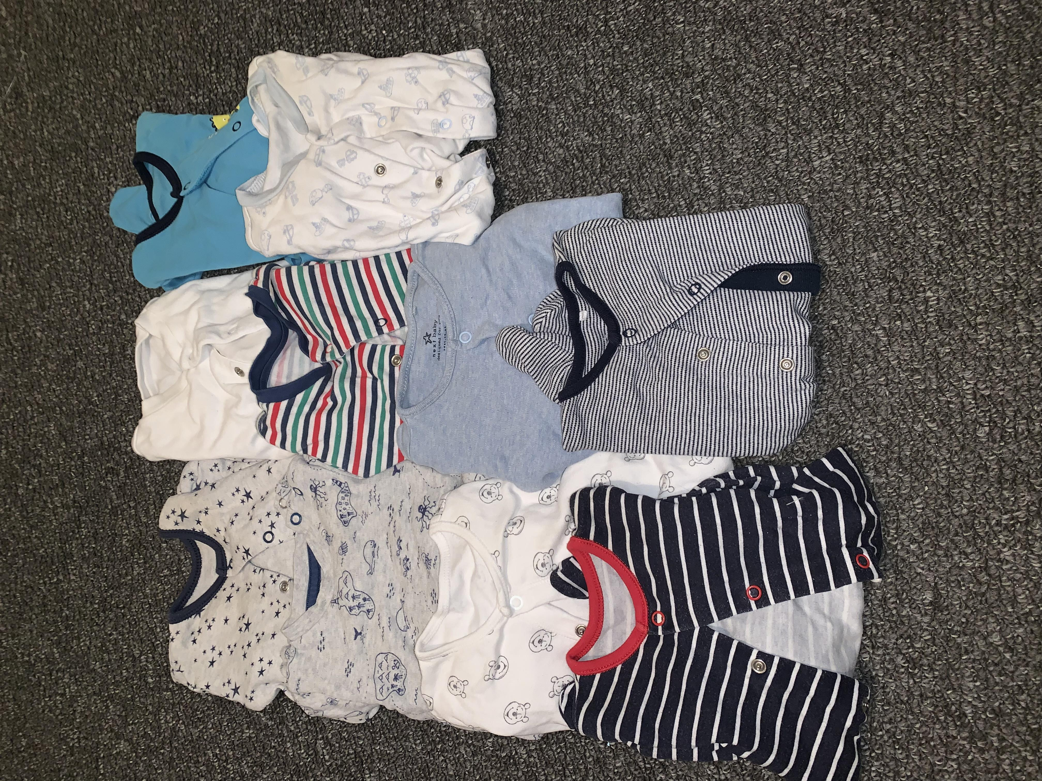 Baby boy clothes bundle.