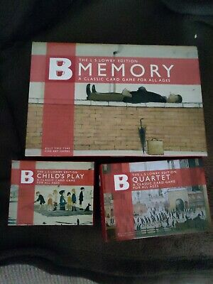 Billy Two Teas Memory Card Game, Childs Play and Quartet L.