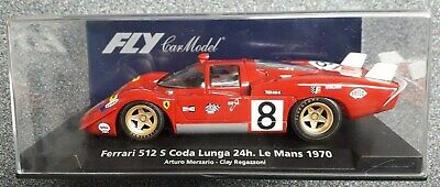 Fly C.71 - Ferrari 512S Coda Lunga - Le Mans  - Clay