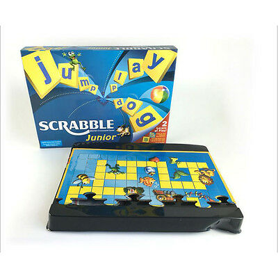 Junior Scrabble Word Game Family Board Funny Educational