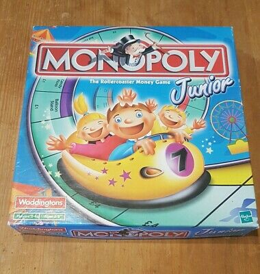 Monopoly Junior Board Game Kids Childrens Monopoly