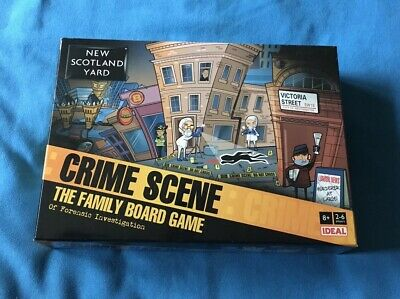 New Scotland Yard Crime Scene The Family Board Game by Ideal