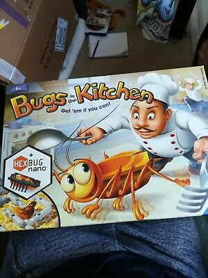 Ravensburger Bugs in The Kitchen Board Game + extra hex bug
