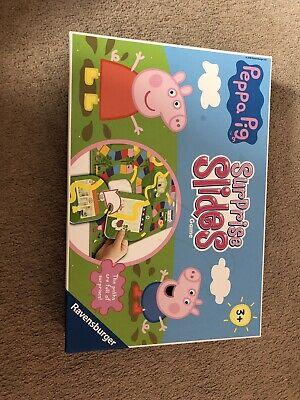 Ravensburger Peppa Pig Surprise Slides Board Game Kids Great
