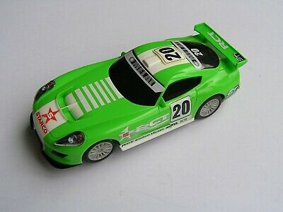 SCALEXTRIC CAR GT LIGHTNING (VIPER) GREEN BOXED ref C -