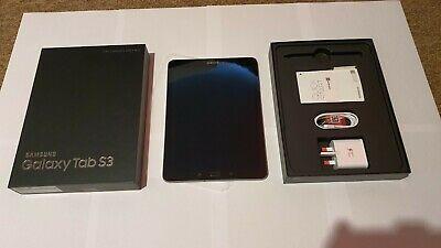 Samsung Galaxy Tab S3 32GB, Wi-Fi, 9.7in - Black. MINT