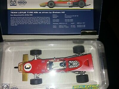 Scalextric CA Lotus 49b Driver Graham Hill