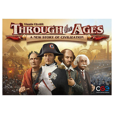 Through the Ages - A New Story of Civilization, Board Game -