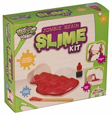 Weird Science Zombie Brain Slime Making Kit Kids Make Your