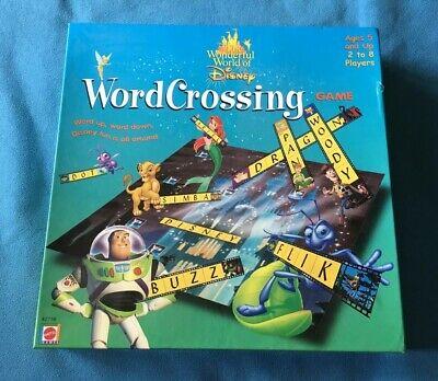 Wonderful World of Disney Word Crossing Game - Mattel Games