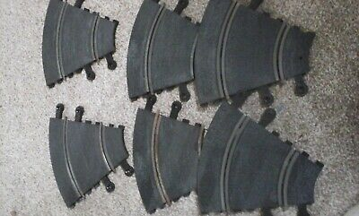 scalextric track pt/52 X 6 pieces of track