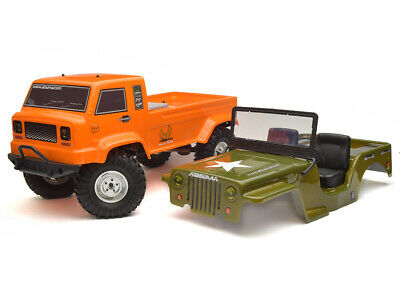 Absima 1:10 EP Crawler CR2.4 RTR - Orange + Free Military
